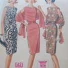 Vintage Dress and Stole Sewing Pattern McCall's 6806 sz 12 uncut