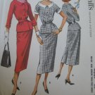 Vintage 50's 2 Piece Dress Sewing Pattern McCall's 4307 sz 12 uncut