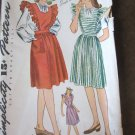 Vintage 40's Jumper and Blouse Sewing Pattern Simplicity 4921 sz 12