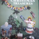 Plastic Canvas Christmas Treasures Treetop Angel, Tissue Cover Ornaments