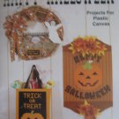 Happy Halloween Projects for Plastic Canvas Tissue Cover Wreath Tote Bag