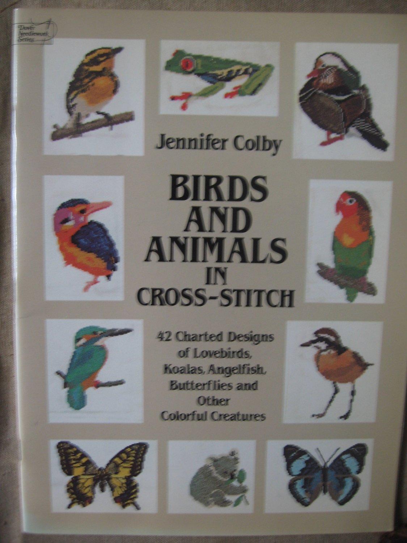 Birds and Animals in Cross-Stitch 42 different designs