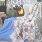 The Afghan Book - Afghans to Knit Crochet Broomstick Lace Woven Sail Boat Cables Zebra and more