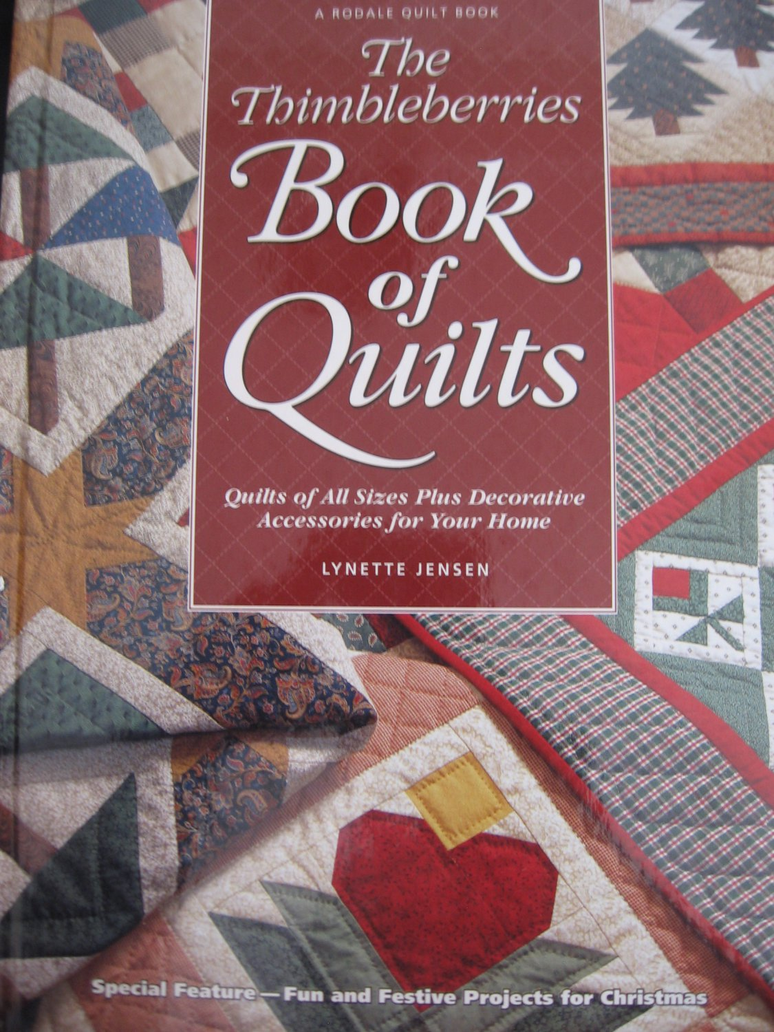 The Thimbleberries Book of Quilts Lynette Jensen