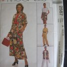 McCall&#39;s  Misses&#39; Shirt, Top, Skirt, Pants, Shorts Sewing Pattern no.2567 Size 6, 8, 10 Uncut