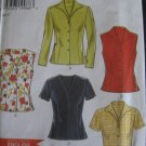 New Look Sewing Pattern Misses' Tops sz 8 - 18 no 6598