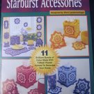 Plastic Canvas Starburst Accessories Tissue Cover, Windchimes 11 designs
