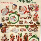 50 Santas to Cross Stitch by Sam Hawkins