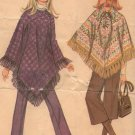 McCalls 2456 Ponchos and Pants Sewing Pattern size 12 uncut