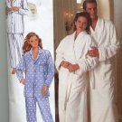 Butterick 4483 Unisex robe and Pajamas Sewing Pattern Uncut size 32 - 40