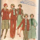 Butterick 4487  Jacket Skirt and Pants Sewing Pattern Size 16 Uncut