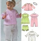 McCalls M4755  Infants Jacket Dress Panties Jumpsuit  Headband  Pattern Size 13 -24 Pounds Uncut