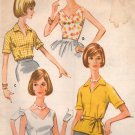 Vintage McCalls 5833 Blouse Set Sewing Pattern Size 16 Bust 36 Complete