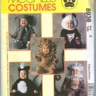 Uncut Toddler Halloween Costume Skunk Lion Monkey Elephant Panda Sewing McCalls 8938 Pattern size 2