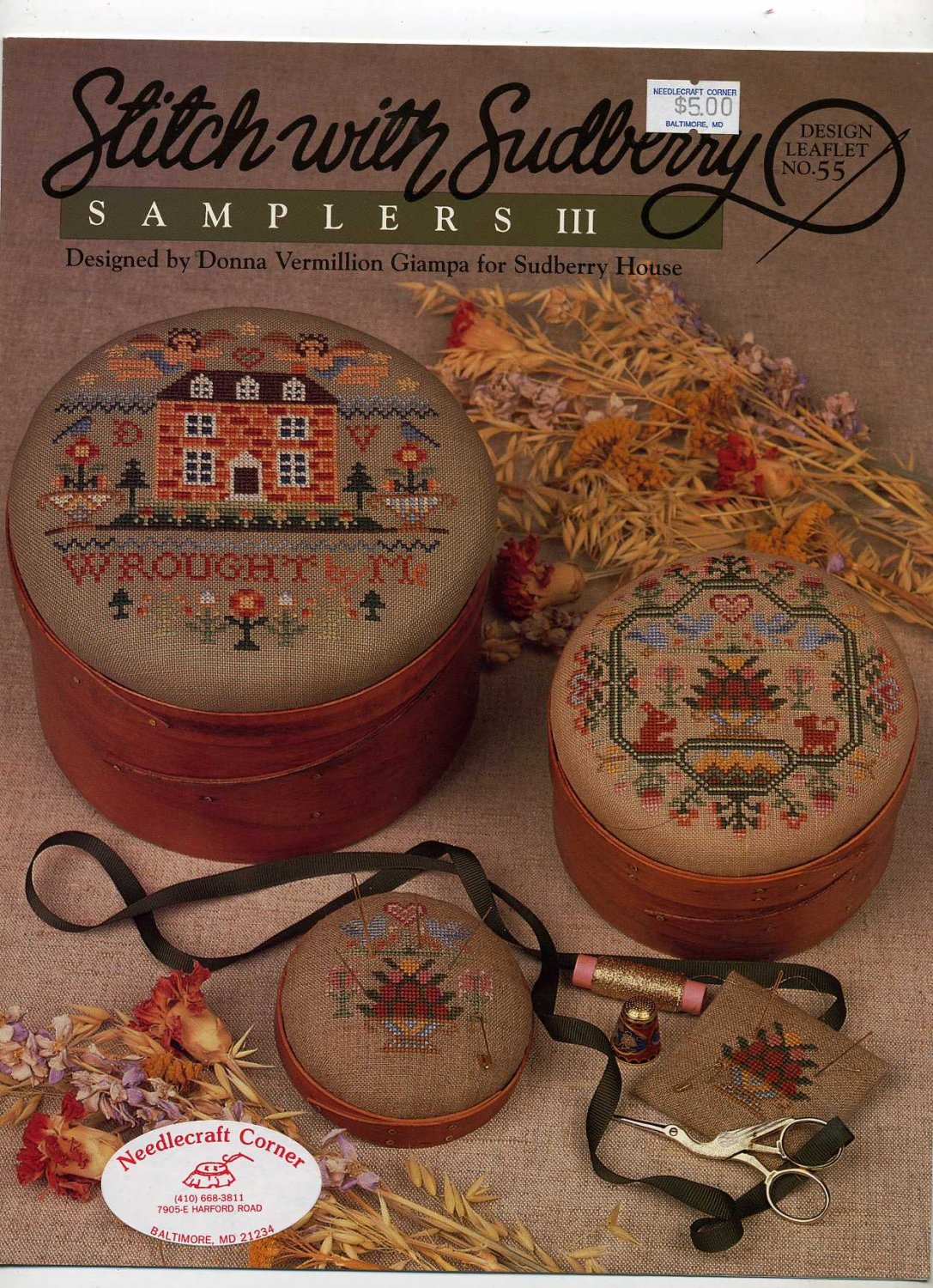 Stitch with Sudberry Samplers III  for Counted Cross Stitch