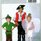 Childs Pirate, Robin Hood & Fairy Halloween Costume Pattern Butterick 4632 Uncut , sizes 3 -  6