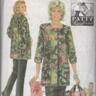 Patty Reed Hobby Coat, Pants and Tote Bag Sewing Pattern Simplicity 4746 Size 18 20 22  24 26  Uncut