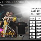 FULL GRAPHIC T SHIRT GAME TEES DOTA 2 T-SHIRT INVOKER