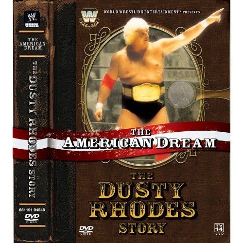 WWE The American Dream The Dusty Rhodes Story New/Sealed 3 Disc DVD Set