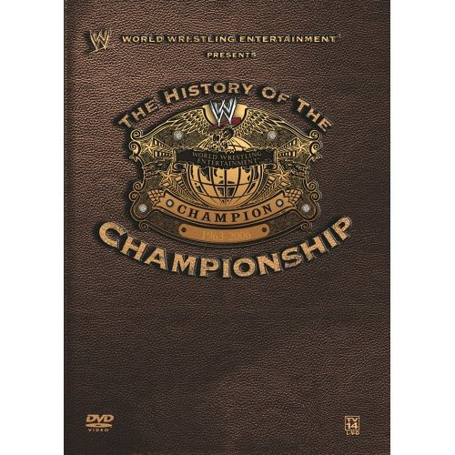 The History of the WWE Championship New/Sealed 3 DVD Set