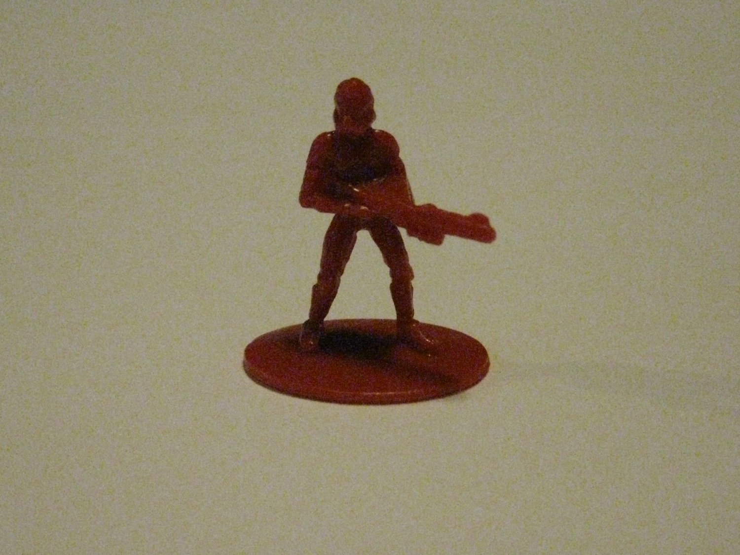 2005 Risk: Star Wars The Clone Wars Board Game Piece: single Red Clone Trooper Player Pawn