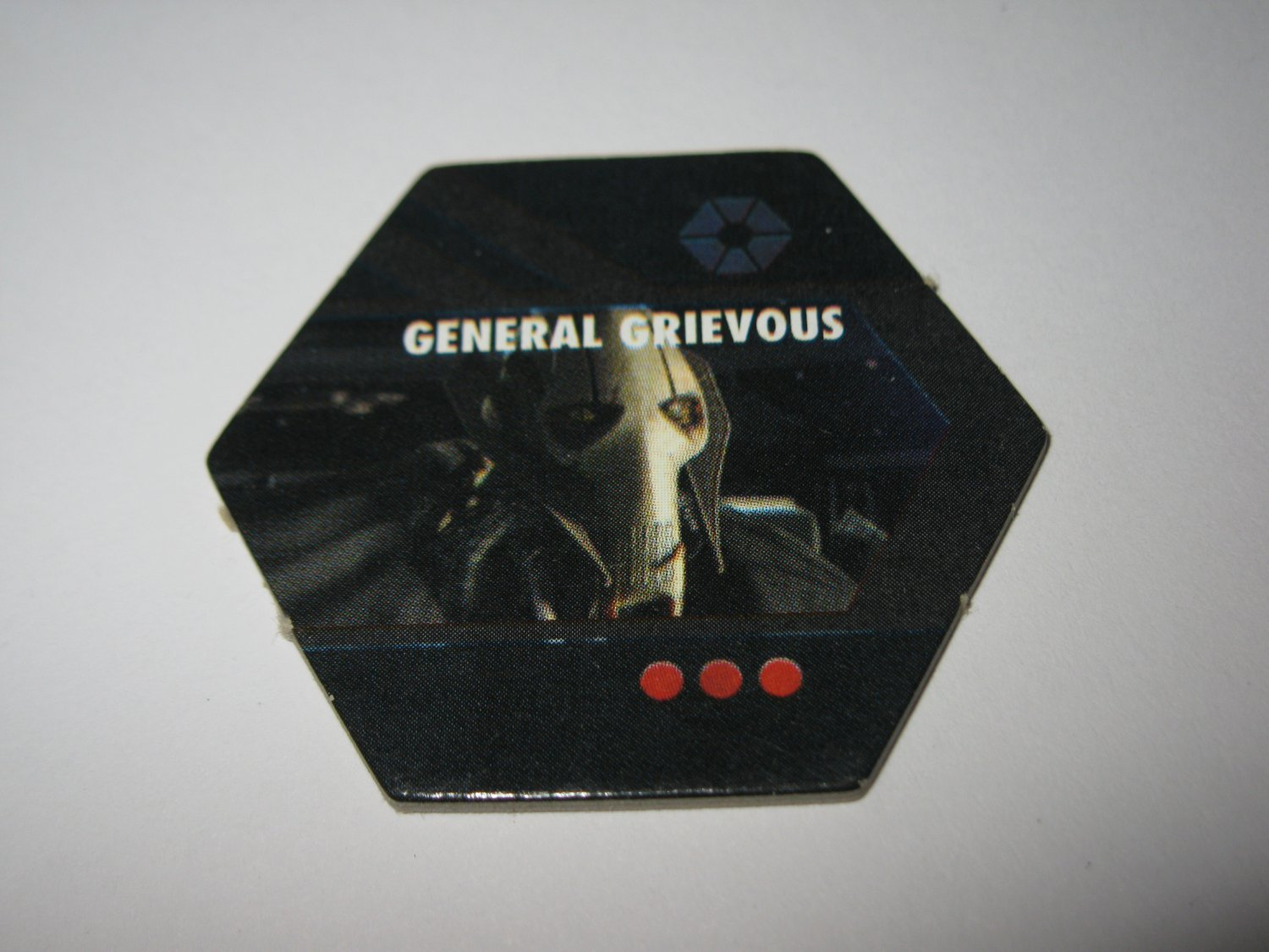 2005 Risk: Star Wars The Clone Wars Board Game Piece: single General Grievous Player Hexagon