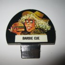 1986 Hollywood Squares Board Game Piece: Barbie Cue Player tab