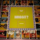 1976 Whosit? Board Game Piece: Game Board