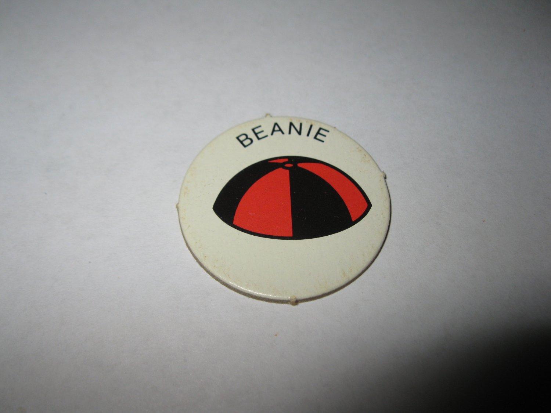 1983 Scavenger Hunt Board Game Piece: Beanie Circle Tab