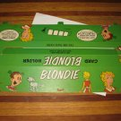 1972 Comic Card Board Game Piece: Blondie Player Station
