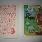 1972 Comic Card Board Game Piece: Blondie Cartoon Card #6