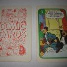 1972 Comic Card Board Game Piece: Blondie Cartoon Card #5