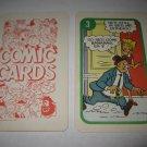 1972 Comic Card Board Game Piece: Blondie Cartoon Card #3