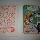 1972 Comic Card Board Game Piece: Blondie Cartoon Card #1