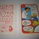 1972 Comic Card Board Game Piece: Hi and Lois Cartoon Card #4