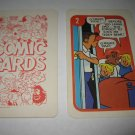 1972 Comic Card Board Game Piece: Hi and Lois Cartoon Card #2