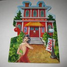 2005 Clue Mysteries Board Game Piece: Scarlet Theatre red House