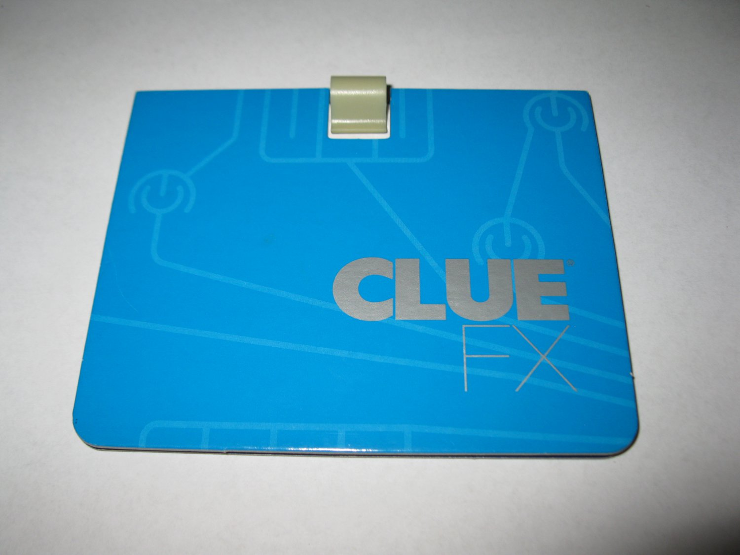 2003 Clue FX Board Game Piece: Blue Player Folder