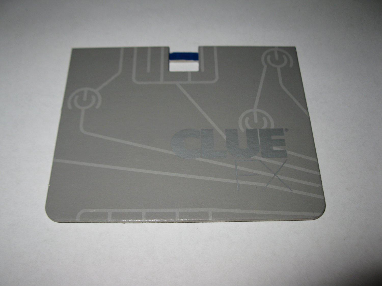2003 Clue FX Board Game Piece: Gray Player Folder