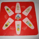 1981 Strawberry Shortcake 'Berry Go Round' Board Game Piece: Game Player Square #1
