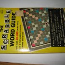Scrabble Board Game Piece: 1974 Scrabble Word Book