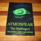 1995 Atmosfear Board Game Piece: game booklet