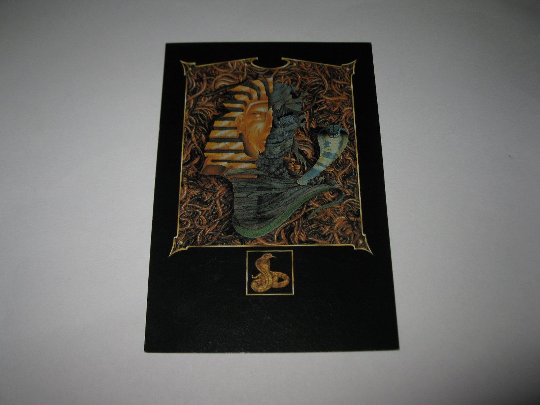 1995 Atmosfear Board Game Piece: Khufu Player Card