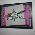 1992 Uncanny X-Men Alert! Board Game Piece: Silver Samurai Evil Mutants Card