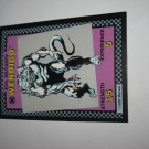 1992 Uncanny X-Men Alert! Board Game Piece: Wendigo Evil Mutants Card