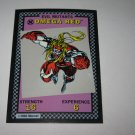1992 Uncanny X-Men Alert! Board Game Piece: Omega Red Evil Mutants Card