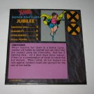 1992 Uncanny X-Men Alert! Board Game Piece: Jubilee Player Stat Card