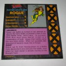 1992 Uncanny X-Men Alert! Board Game Piece: Rogue Player Stat Card