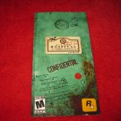 Manhunt 2 : Playstation Portable PSP Video Game Instruction Booklet