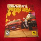Midnight Club Los Angeles : Playstation 3 PS3 Video Game Instruction Booklet